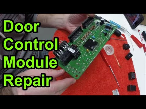 C5 Corvette Door Control Module Repair Youtube