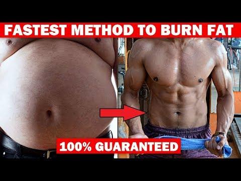 Fastest Way To Burn Fat - 100% Guaranteed  (SECRET)   Tips & Workout