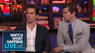 Matt Bomer And Andrew Rannells On Being Gay In Hollywood | WWHL