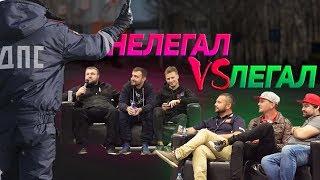 УЛИЧНЫЕ гонщики Vs ДРИФТЕРЫ Борщ и Вахрушев VS Семенюк и Шиков
