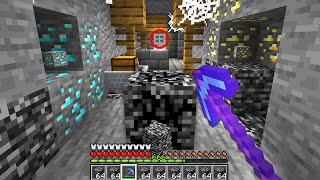 i can actually mine Bedrock in this Minecraft UHC..