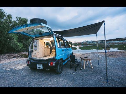 Biến Suzuki Wagon thành Ngôi Nhà Di Động