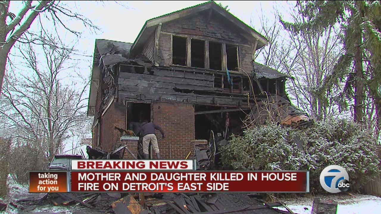 Two people killed in a house fire on Detroit's east side ...