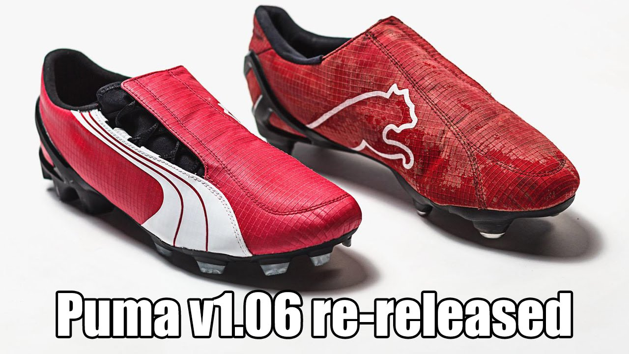 dee012f5e05 Puma v1.06 Boots re-released - YouTube