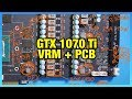 Colorful GTX 1070 Ti Vulcan PCB, VRM, & Shunt Shorting