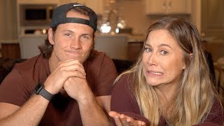 10 THINGS I'VE NEVER TOLD ANYONE CHALLENGE | Shawn Johnson + Andrew East