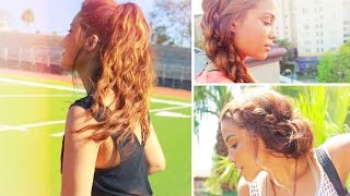 4 Simple Back to School Hairstyles!