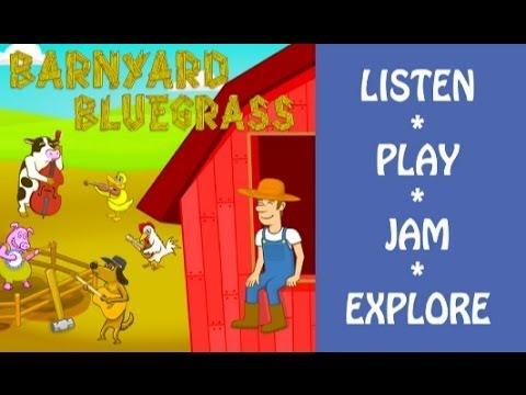 Barnyard Bluegrass iPad App Review (Music Apps For Kids)