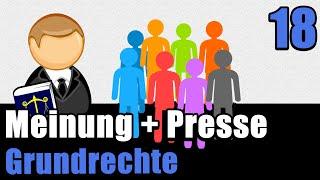 Art 5 I GG - Meinungs- und Pressefreiheit - Staatsrecht II 18