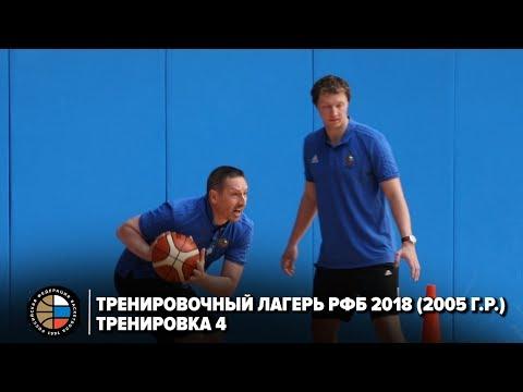 Тренировочный лагерь РФБ 2018 (2005 г.р.) / Тренировка 4