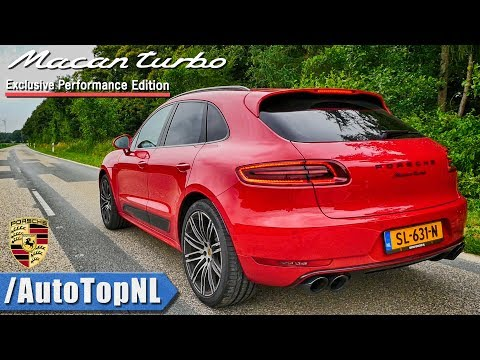 440HP Porsche MACAN TURBO Performance | DRIFTS Exhaust SOUND TUNNEL & AUTOBAHN ONBOARD by AutoTopNL