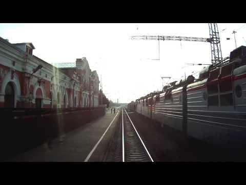 Поездка в электровозе 2ЭВ 120  Тихорецкая - Армавир с регламентом
