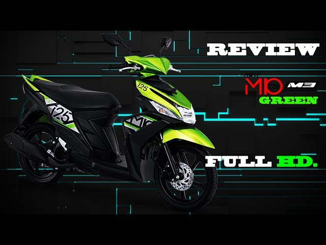 NEW MIO M3 125 GREEN REVIEW