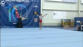 В Новосибирске проходит турнир по спортивной гимнастике на призы Евгения Подгорного