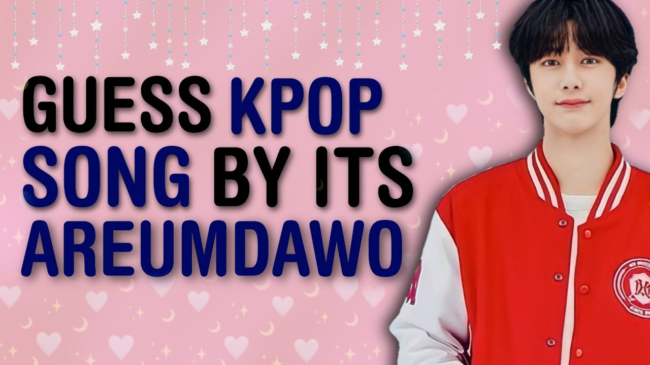 """BREATHTAKING-LY HARD!! GUESS THE 50 KPOP SONG BY ITS """"아름다워"""" or """"AREUMDAWO"""" 