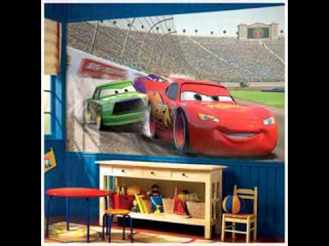 Disney pixar cars bedroom design decorating ideas - YouTube