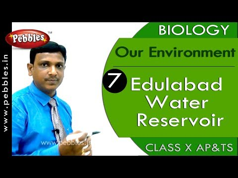 Edulabad Water Reservoir : Our Environment | Biology | Science |  Class 10
