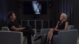 Интервью Дэвида Духовны и Джиллиан Андерсон на русском   X-Files   Секретные Материалы
