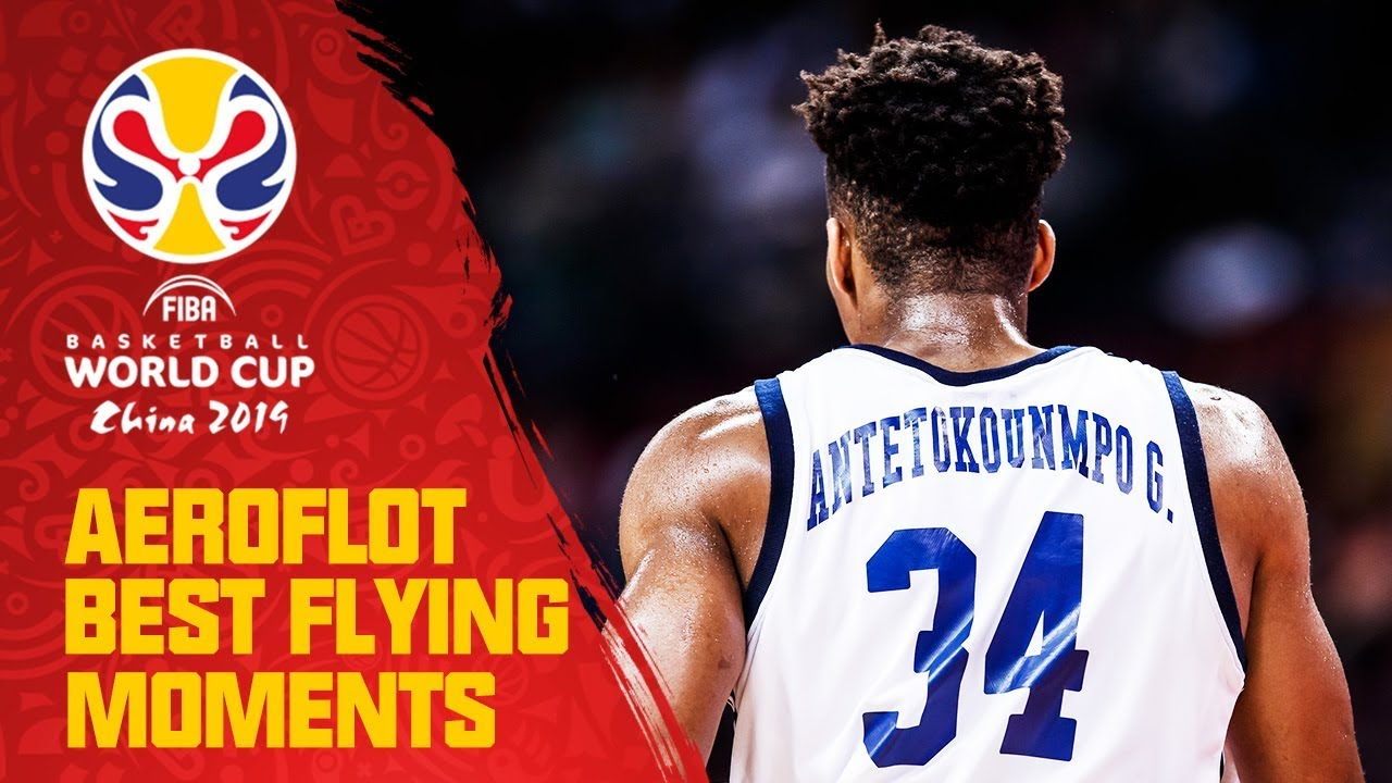 Giannis Antetokounmpo takes it COAST TO COAST - Aeroflot Best Flying Moments