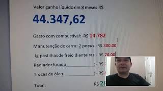 ➗❎➖Motorista UBER (R$ 44.347,62 em oito meses de UBER -comprovado)