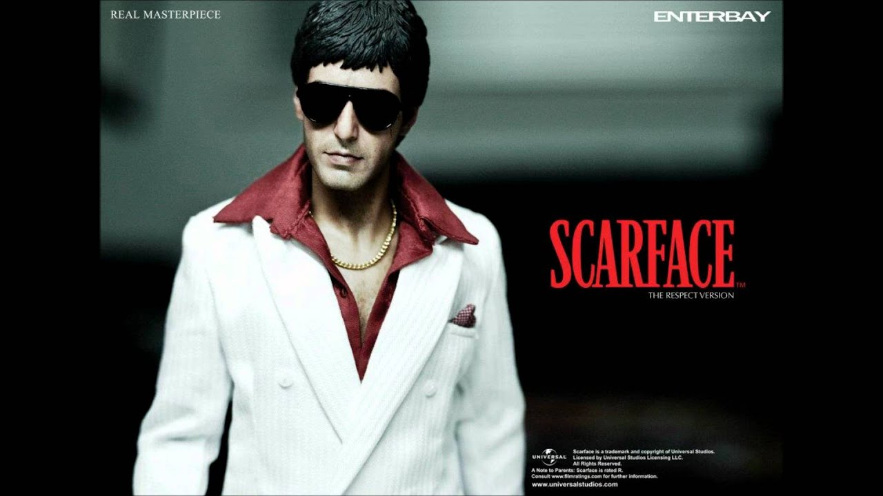 Scarface Wallpaper For Bedroom Enterbay Scarface Figure Respect Version Youtube