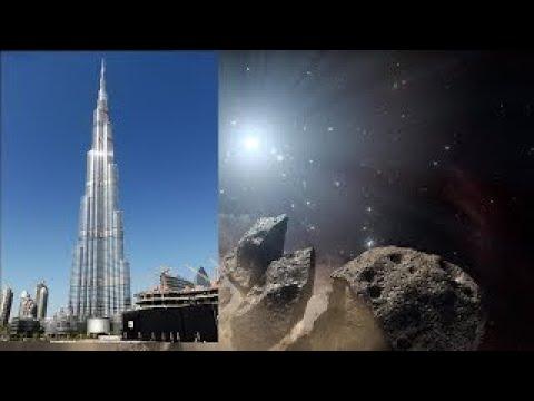 Asteroid the size of Burj Khalifa skyscraper heading for Earth