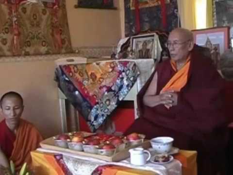 H H  the 101st Gaden Trisur Rinpoche's Vajrayogini Teachings