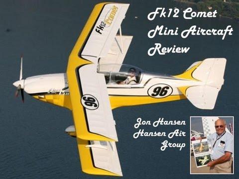 Fk 12 Comet light sport aircraft mini aircraft review, Hansen Air Group