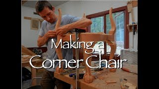 Corner Chair Building Process by Doucette and Wolfe Furniture Makers Copy