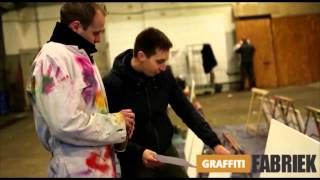 graffiti-fabriek - graffiti workshop teamuitje Utrecht