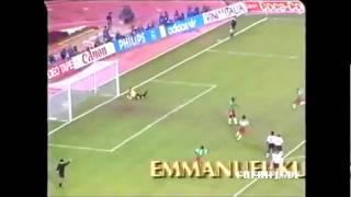 Angleterre 3-2 Cameroun (Coupe du monde 1990)