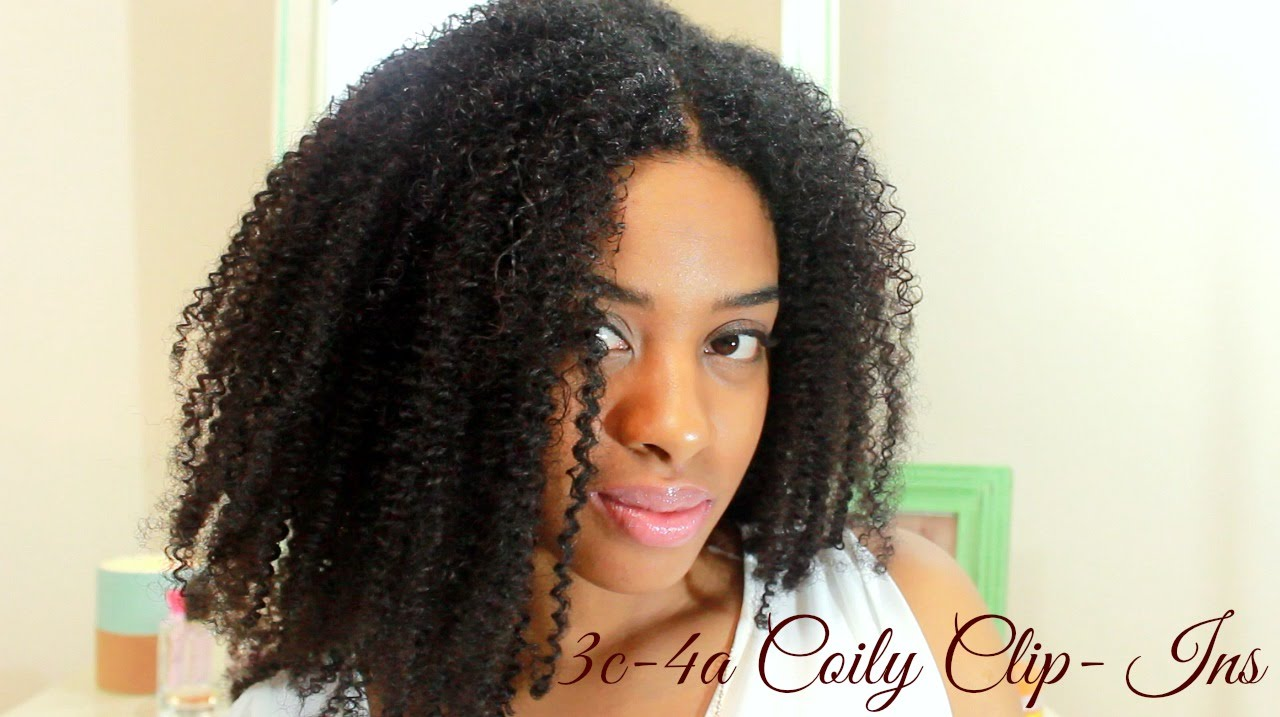 How To Install Coily 3c 4a Clip Ins On Short Natural