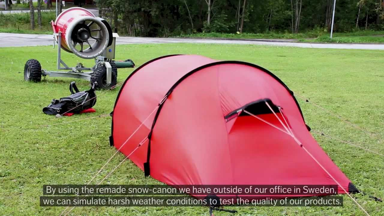 & Handling your Hilleberg tent in strong winds - YouTube