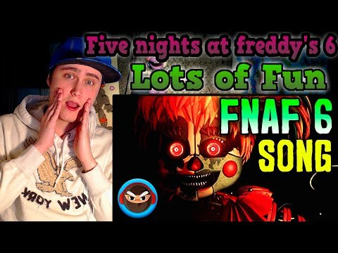 "FNAF 6 SONG ""Lots of Fun"" by TryHardNinja  