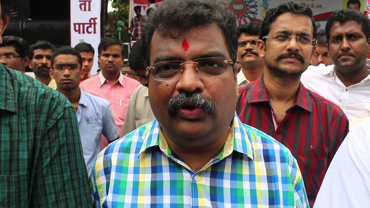 बीजेपी विधायक रवींद्र चव्हाण का  विवादित बयान