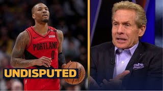 UNDISPUTED | Skip reacts Lillard respond on Twitter to Skip's commentary on Dame's superstar status
