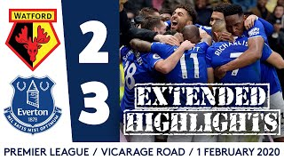 WALCOTT WINS IT IN THE LAST MINUTE! | EXTENDED HIGHLIGHTS: WATFORD 2-3 EVERTON
