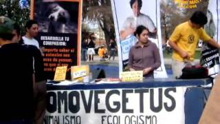 Chilean Veg Society, Homovegetus: Sharing Compassion Through Veganism  (in Spanish)