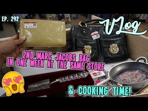 2ND MARC JACOBS BAG IN ONE WEEK AT THE SAME STORE | DAILY THRIFTING TRIP | VLOG EP. 292