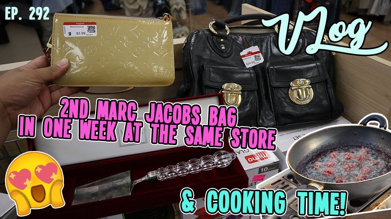 76e2bb3925fa0 2ND MARC JACOBS BAG IN ONE WEEK AT THE SAME STORE   DAILY THRIFTING TRIP    VLOG EP. 292