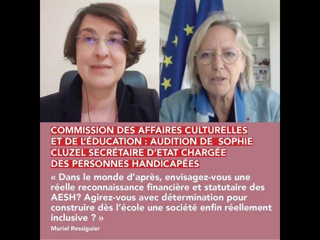Intervention commission des affaires culturelles et de l'éducation.