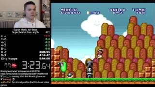 (5:03.52) Super Mario Bros. any% (All Stars) speedrun *Former World Record*
