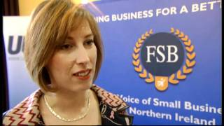 Sandra Overend discusses the economy with the Federation of Small Businesses