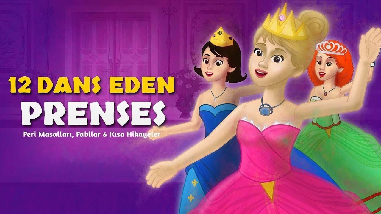 12 Dans Eden Prenses - Çizgi Film Masal