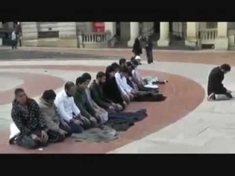 Public Salat of Muslims in Europe