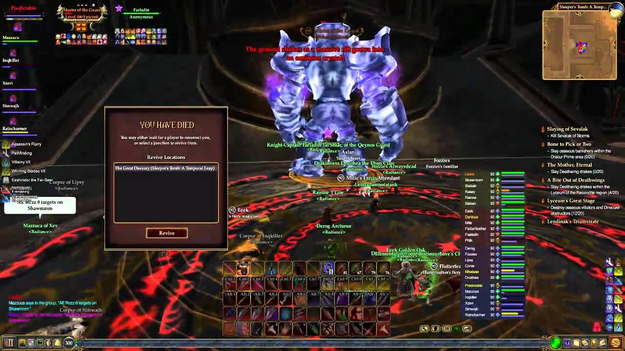 EQ2 Raid Guide - Sleeper's Tomb, Master of the Guard