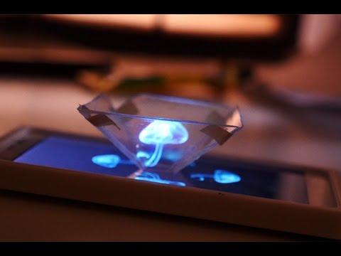 Come creare ologrammi 3D con il tuo smartphone [TUTORIAL]