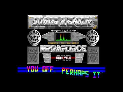 Share and Enjoy & Megaforce - Amazing Tunes (Amiga Music Disk)