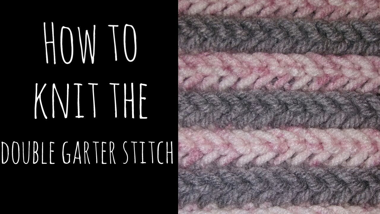 Knitting How To Bind Off Scarf : Knit bind off garter stitch full zip sweater