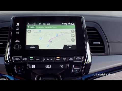 How to use the Embedded Rear Entertainment System App